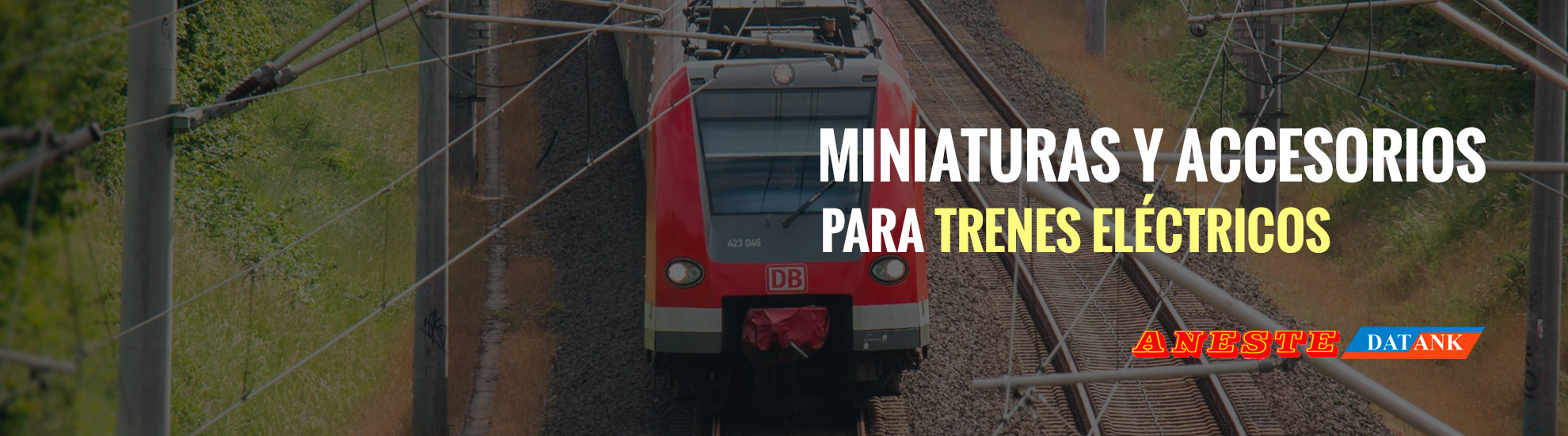 Miniatures and Accessories for Electric Trains